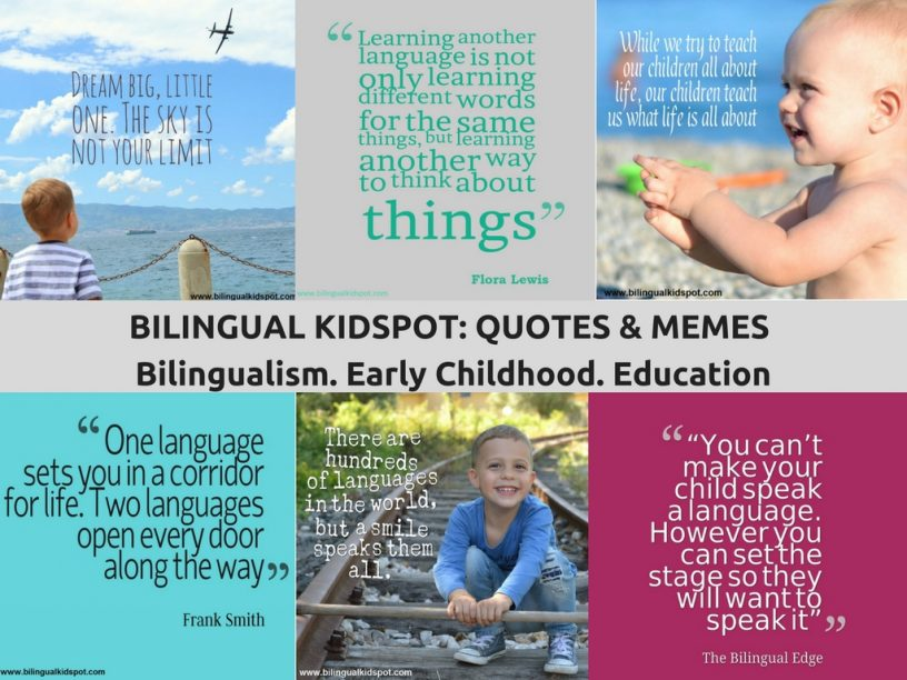 Bilingual Quotes Bilingual Kidspot