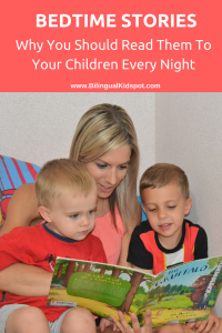 Bedtime stories - why we should read them every night