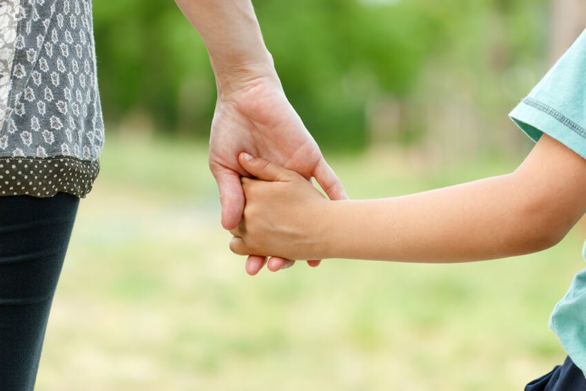 nanny holding hands 2