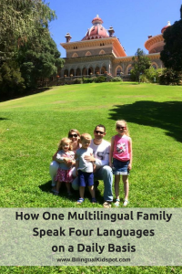 one multilingual family speaks four languages daily basis