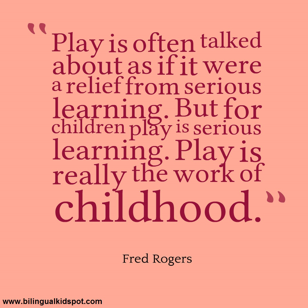 Quotes About Kids Learning: Bilingual Kidspot