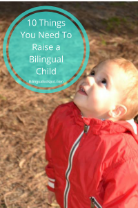 10 things you need to raise a bilingual child