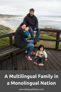 Multilingual Family in a Monolingual Nation