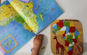 montessori activity - bilingual kids