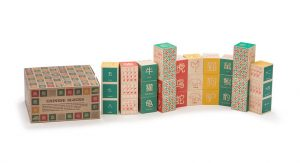 wooden alphabet blocks chinese- gifts bilingual kids