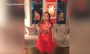 arabella trump speaks mandarin bilingual kids