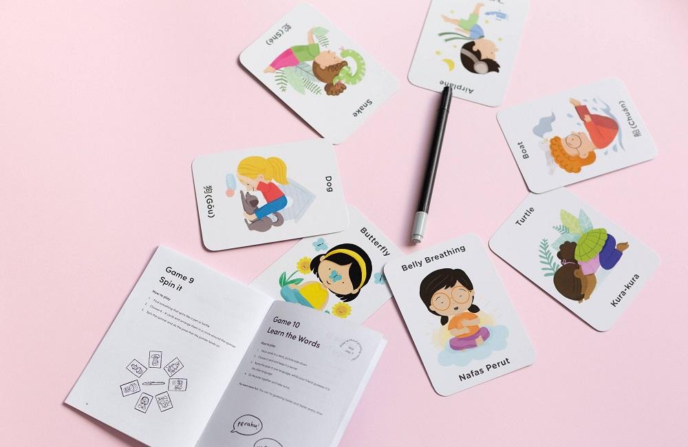 Bilingual Yoga Cards