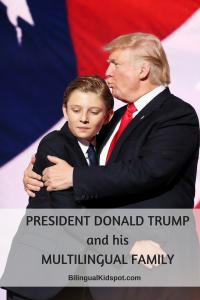 President Donald Trump Multilingual Family