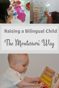 bilingual multilingual child montessori way - bilingual kidspot