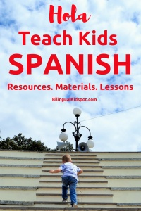 Teach Kids Spanish - Extensive Resources, Materials, Lessons