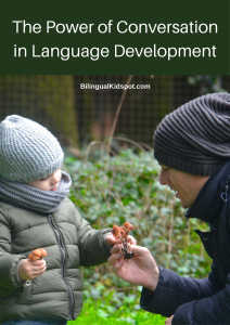 power conversation in language development young children