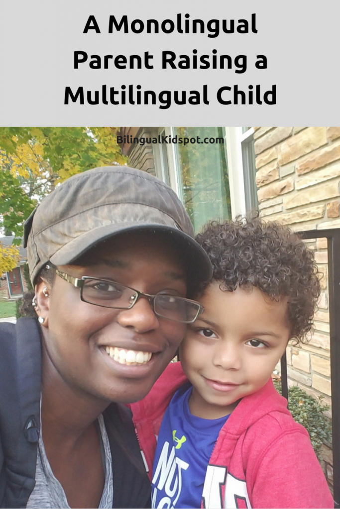 monolingual parent raising a bilingual or multilingual child