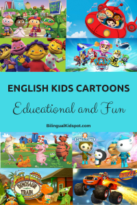 English Cartoons Kids Educational Fun