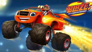 English Cartoons Kids Educational Blaze and Monster Machines