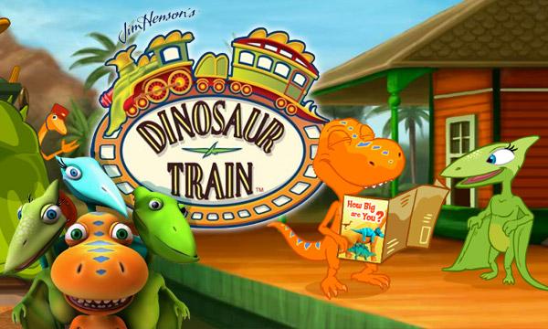 English Educational Cartoons for Kids Dinosaur Train