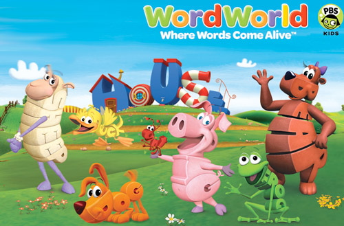 English Educational Cartoons Kids Word World