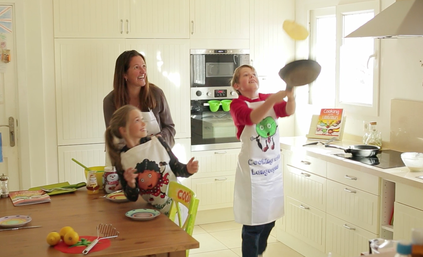 Cooking with Languages: Helping Kids Learn Languages in The Kitchen