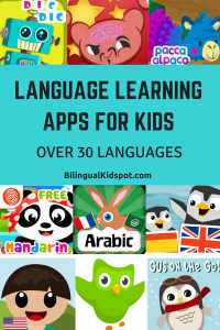Fun Apps for Kids to learn languages