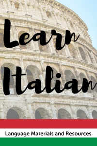 Italian For Kids Resources Materials