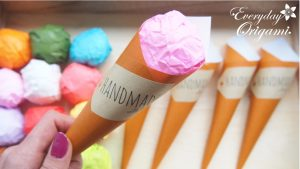 origami-icecream-shop