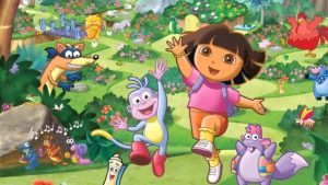 spanish cartoons kids dora la exploradora