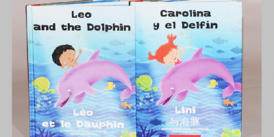 personalized-bilingual-book-kids-little-boy-dolphin