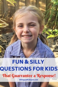 Fun Questions for Kids that guarantee a response