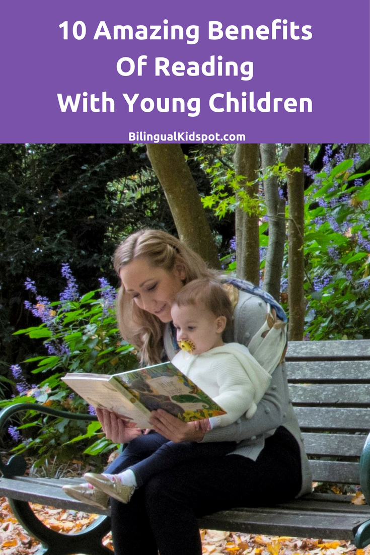 10 amazing benefits of reading with young children
