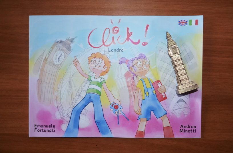 Bilingual Book for Kids: Click London Italian/Spanish/English