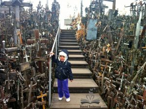 raising-bilingual-kids-lithuania-hill-of-crosses