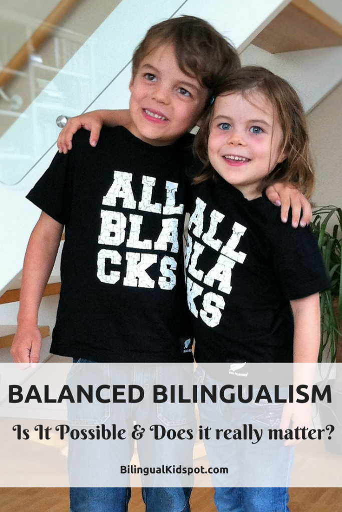 Balanced bilingualism - is it possible and does it matter
