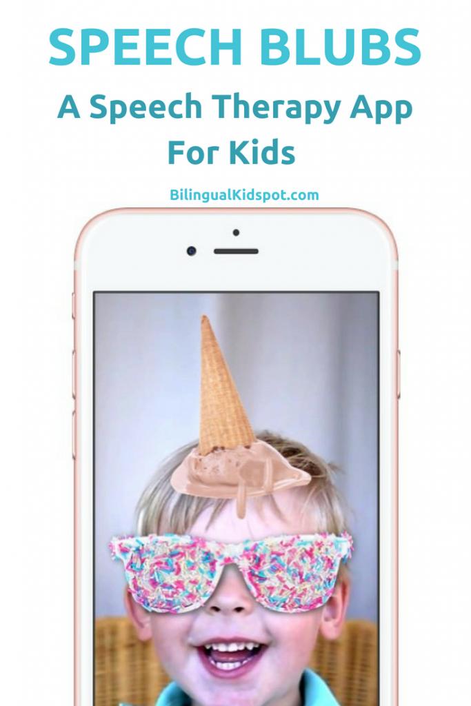 Speech Therapy App - Speech Blubs