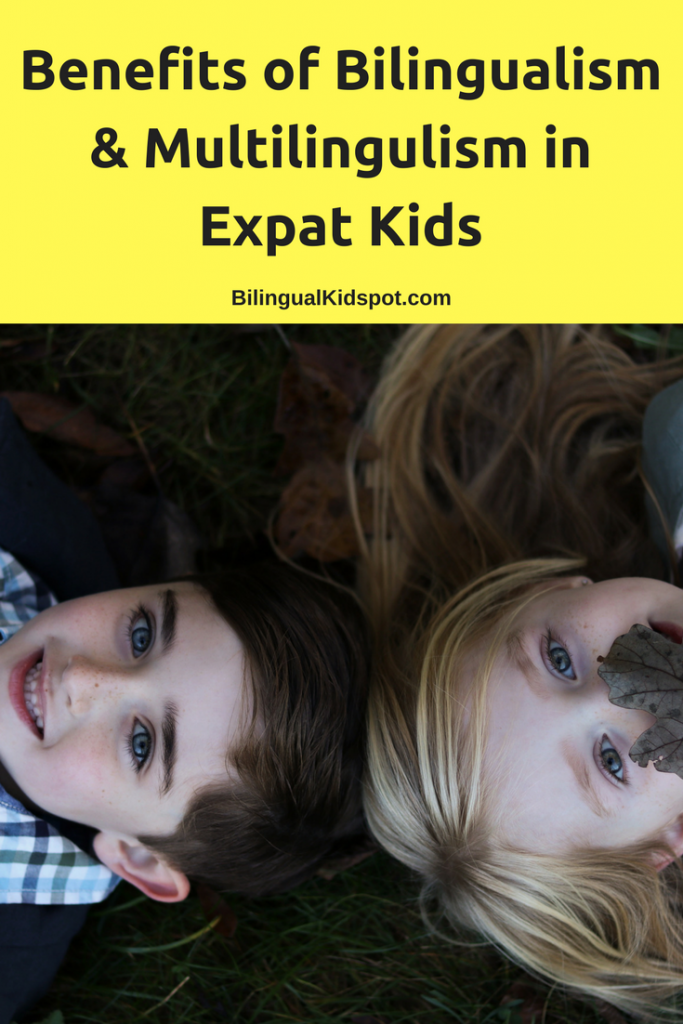 The benefits of bilingualism in expat kids
