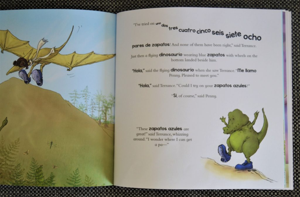 one-third-stories-spanish-dinosaur-book
