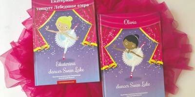 Swan Lake Personalized Book