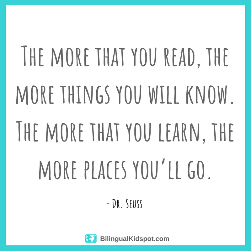 Reading Quotes: Dr Seuss