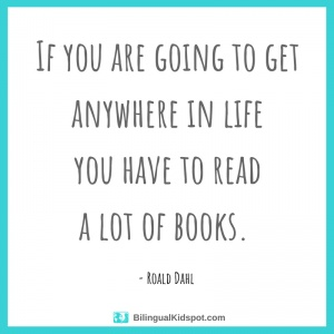 Quotes about reading: Roald Dahl