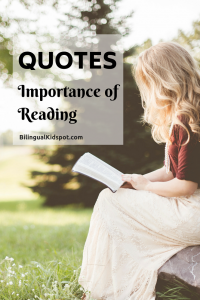 Importance of Reading Quotes