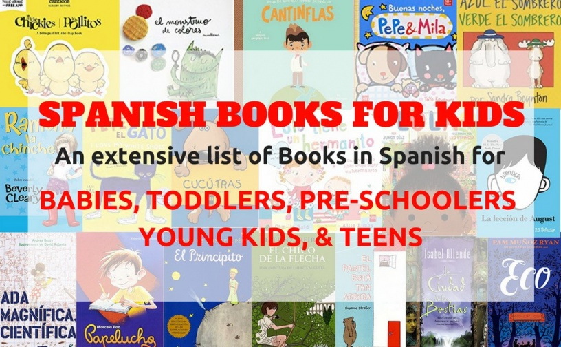 Spanish Books For Kids Baby Toddler Child Teen Books In Spanish