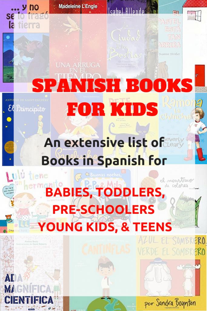 Spanish Books for Kids - Babies, Toddlers, Pre-school, Kids, Teens