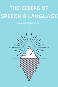 The Iceberg of Speech and Language