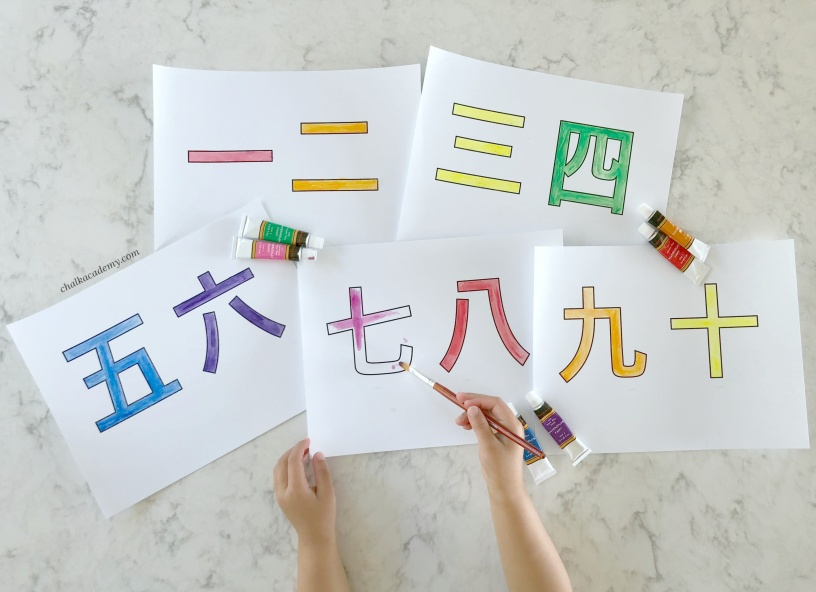 Chinese Characters For Kids Teaching Simple Chinese Characters