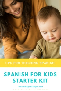 Tips for teaching kids Spanish