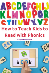 Teach Kids to Read using Phonics