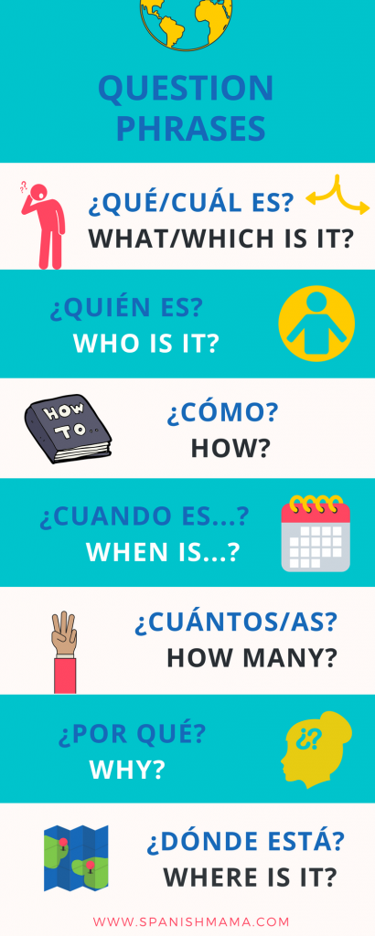 Teach Kids Spanish - Spanish Verbs