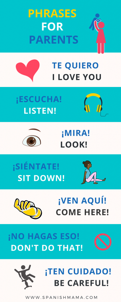 Teach Kids Spanish - Simple Spanish phrases