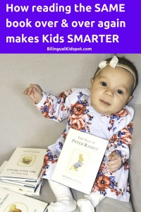 Reading the same book repetitively benefits kids