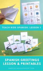 Spanish Greetings Lesson Plan