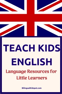 Teach Kids English - Resources for little learners
