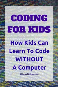 Coding for Kids - Learn to code without a computer